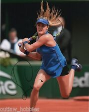 Eugenie Bouchard Autographed Signed 8x10 Photo COA