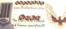 1970-1981 TRANS AM CAMARO 3 PEICE REAR TRUNK SPOILER MOUNTING KIT