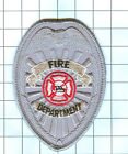 Fire Patch - Generic Fire Department (Silver)