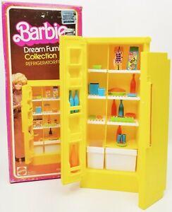 Barbie Dream Meubles Collection Réfrigérateur/Freezer 1978 Mattel Numéro 2473