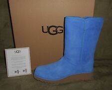 UGG WOMEN'S AMIE SKYLINE SUEDE BOOTS WATER PROOF SIZE 7.5 NEW IN BOX