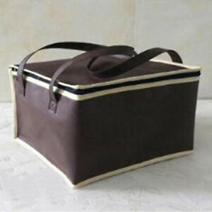 Insulated Thermal Cooler Bento Lunch Box Tote Picnic Storage Bag Pouch Portable