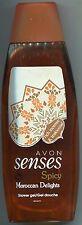 (1 l = 19,20 €) Avon - Senses Duschgel - Moroccan Delights 500 ml