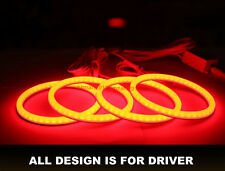 Cotton RGB For Hyundai Tiburon 2000-2001 LED Angel Eye Halo ring Demon Devil eye