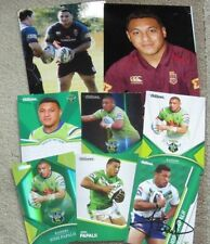 Lot Canberra Raiders Original NRL & Rugby League Trading Cards