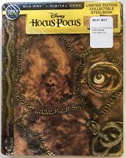 NEW DISNEY HOCUS POCUS BLU RAY DIGITAL BEST BUY EXCLUSIVE STEELBOOK RARE OOP