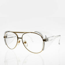 Safety Aviator Glasses with Protective Side Shields Deadstock - Hurley