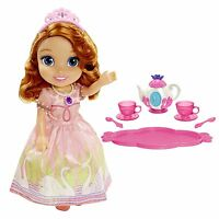 Disney Sofia the First Toddler Doll Tea Set Ages 3+ New Toy Girls Play Gift Fun