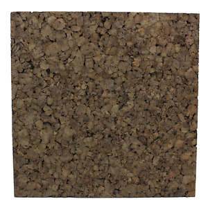 "Flipside FLP12058 Dark Cork Tiles, 12"" x 12"", Pack of 4, Cork, Brown"