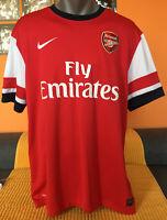 ARSENAL 2012/14 Home Football Shirt Trikot Soccer Jersey Camiseta Maillot SIZE L
