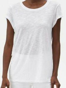 MICHAEL STARS ~ WHITE  CREW NECK BROOKLYN  TEE  O/S NEW USA #6935