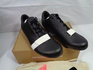 Rapha Classic Shoes MENS 12  Black 3 Bolt Carbon Road Bike Lace Up Race NIB!!!!!