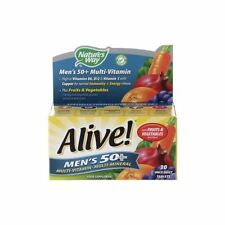 Natures Way Alive Mens 50 Multi Vitamin & Mineral 30 One a Day Tablets