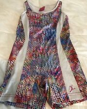 Capezio Future Star Gymnatics Leotard Multicolored Child Size Medium