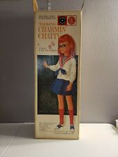 Vintage Mattel Talking Charmin Chatty Doll with Original Box and 4 Talking Disc