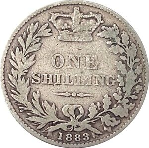 1837 TO 1901 VICTORIA SILVER SHILLING CHOICE OF YEAR / DATE