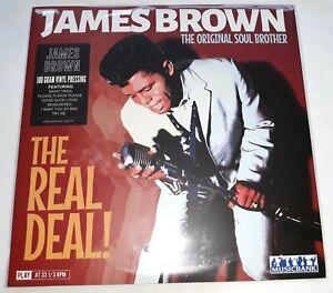 JAMES BROWN THE ORIGINAL SOUL BROTHER - LP - NEW / SEALED - 180g VINYL