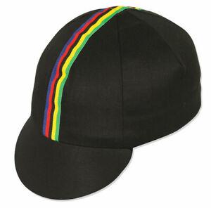 Pace Sportswear World Champ Cycling Cap, Black - One Size