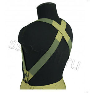 Suspenders Braces for Gorka Suit And Other Pants Russian Military SSO