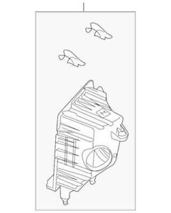 Genuine Ford 2009-2012 Escape Mariner 2.5L Air Filter Housing 8L8Z-9661-C