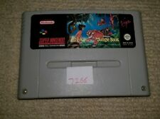 THE JUNGLE BOOK  - Rare Super Nintendo SNES Game