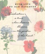 Happy Graduation Daughter - Garden Flower Theme - Greeting Card By Hallmark