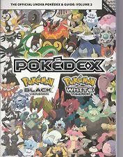 NEW:The Official Unova Pokedex and Guide Vol 2 Pokemon Black Version/White Versi