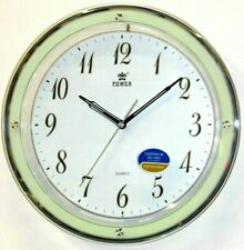 Power 13 inch elegant silent sweep movement wall clock (Pw8208Wks)