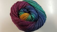 King Cole Riot Chunky #660 Cool Blend Self Striping Yarn