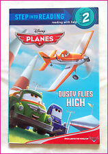 DISNEY PLANES - Step 2 Into Reading - Read With Help - DUSTY FLIES HIGH - New