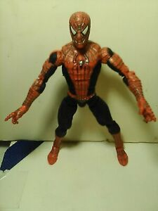 """Marvel SPIDER-MAN 6"""" Action Figure Super Poseable 2003 Movie Tobey Maguire"""
