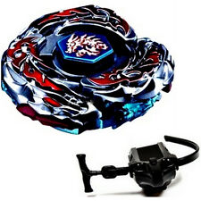 Beyblade L-Drago Destroy Galaxy Big Bang Cosmic Launcher & Ripcord Spinning Toys