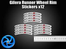 GILERA Runner Rim cinta rueda Pegatinas exclusivo 50, 125. 172, 180 183 SP VX ST F
