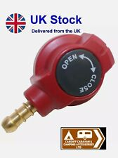 Bullfinch LPG Gas BBQ outlet point quick release connector for Caravan Motorhome