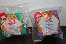 Happy Meal Toys Sabans VR Troopers #3 and #4  in package dated 1995