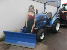 NEW Front-Mounted Snow Plough For Compact tractor