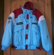 Descente Amazing Aqua Ski Coat w/ TONS of Features & Attached Hood, Womens S