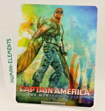 CAPTAIN AMERICA winter soldier - Lenticular 3D Flip Magnet Cover FOR steelbook