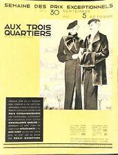 """CATALOGUE """"AUX TOIS QUARTIERS """" BOULEVARD DE LA MADELEINE"""