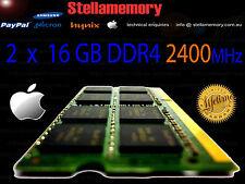 mid 2017 iMac Retina 5K 32GB Memory 2 x 16GB DDR4 2400MHz Ram PC4-2400 pc4-19200
