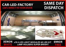 RENAULT MASTER INTERIOR LED LAMP LIGHTING UPGRADE 40 LED 10x 4 LED MODULES