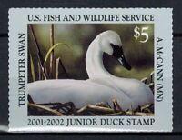 Junior Duck Stamp JDS9 MNH