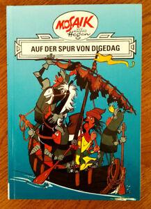 AUF DER SPUR VON DIGEDAG Ritter Runkel Buch 2 Hannes Hegen Digedags Mosaik DDR