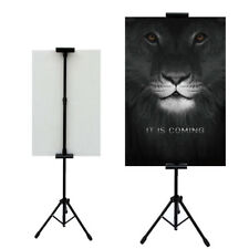 1 pc,Double-side poster sign stand for board or foam sign,floor standing tripod