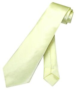 Boys NeckTie Solid Light YELLOW Youth Neck Tie