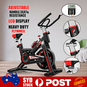 Exercise Spin Bike 6KG Flywheel Cycling Bicycle Fitness Indoor Home Gym O