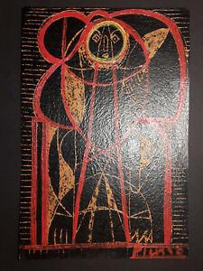 Pablo Picasso Original rare vintage mixed media hand signed Not print