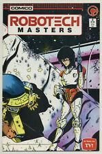 Robotech: Masters #3 (1985, Comico) [Based on Tv Show] Mike Baron, Neil Vokes -c