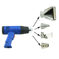 Eu/Us Plug Heat Gun Hot Air Gun Dual Temperature+4 Nozzles Power Tool Heater Gun