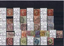 Großbritannien o Sammlung aus MiNr 3 - 1715 sortiert mit vielen Vorkriegsmarken